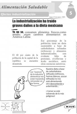 5efectos industrializacion