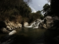 Pozo de sanación ubicado en el rio Minca el cual pa sa por los alrededores de la EcoVillages Goloka